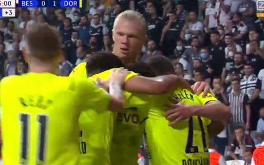 GOAL: Dortmund nu al op rozen: wie anders dan Haaland verdubbelt de score
