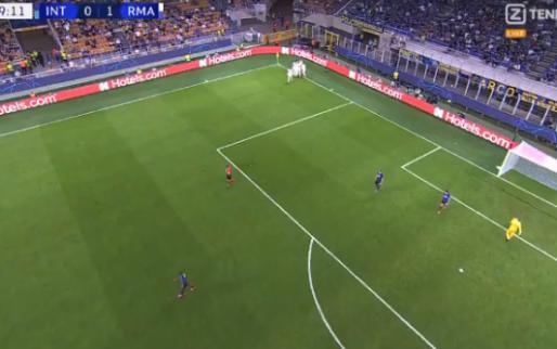 GOAL: Internazionale toch nog de boot in tegen Real Madrid