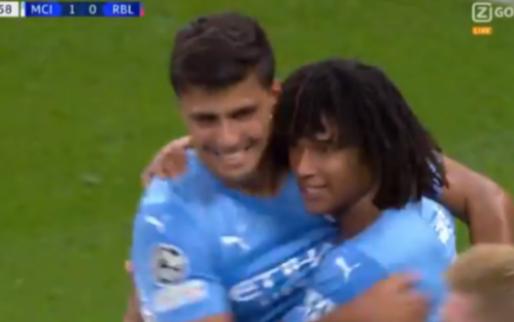 GOAL: De Bruyne kan juichen, Ake scoort voor Manchester City