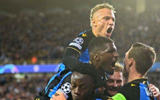 Club Brugge stunt, PSG op gelijkspel gehouden in de Champions League