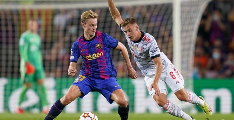 Heldere en harde conclusie van Frenkie de Jong: 'Bayern is een stuk beter'