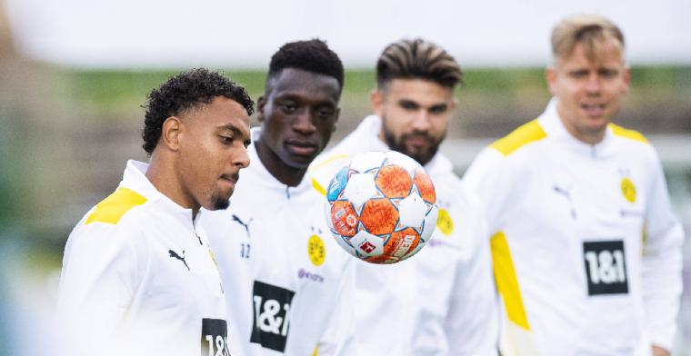Malen start in Champions League ondanks aanmerking van Dortmund-trainer