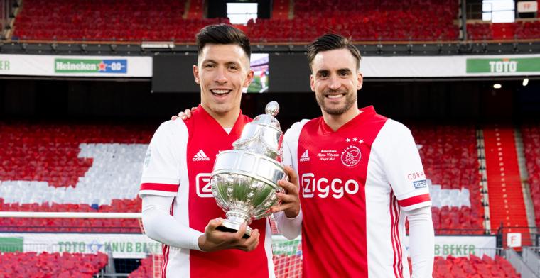 Ajax slaat belangrijke slag met contract tot 2025: 'Hij is nog niet klaar'