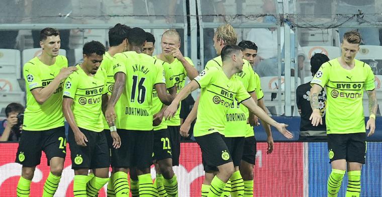 Borussia Dortmund pakt eerste zege in Champions League-groep Ajax