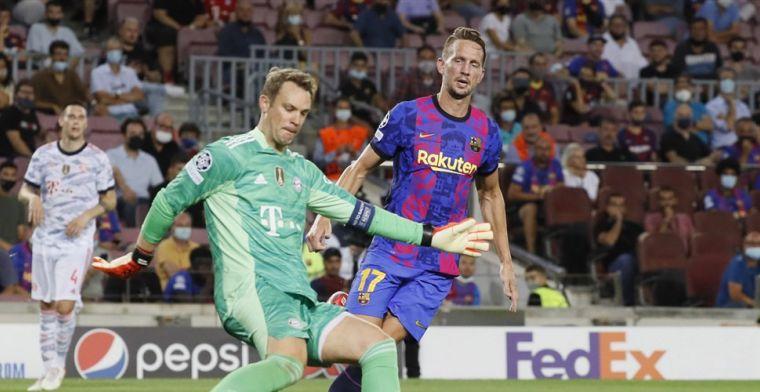 Luuk de Jong trots ondanks nederlaag bij Barça-debuut: 'Dat besef komt straks wel'