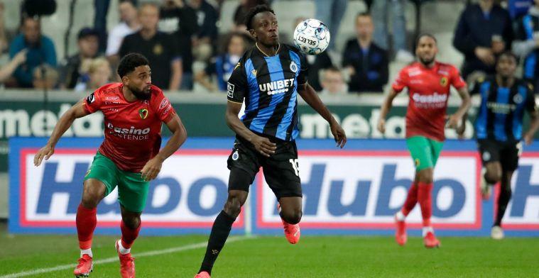 """Sowah legt keuze voor Club Brugge en JPL uit: """"Speelde een belangrijke rol"""""""