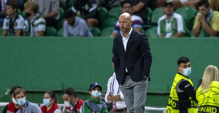 Ajax-coach Ten Hag looft 'topspeler' Haller en is kritisch op Pasveer