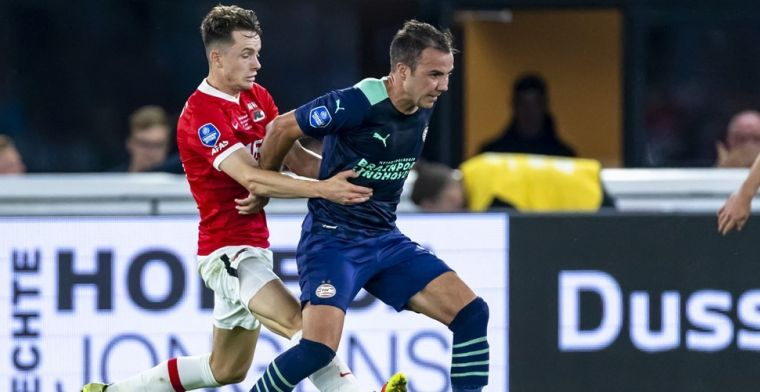 Götze blijft om strijd met Ajax aan te gaan: 'We hebben nu een betere kans'