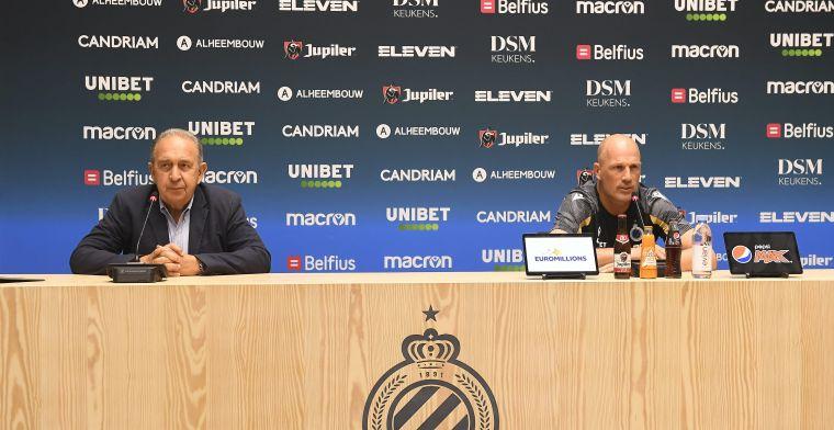 """Club Brugge gaat niet alles achterin dichtgooien: """"Niet de filosofie van Clement"""""""