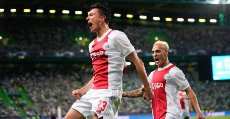 Ajax on fire: Antony 'als kind op speelplaats', Babel reageert na goal 'Bergosso'