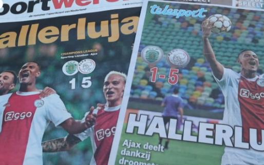 Complimenten uit binnen- en buitenland: 'Ajax heeft alles, behalve een topkeeper'