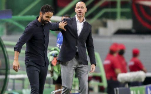 Afbeelding: 'Ajax was gewoon beter, mijn spelers hebben moeten lijden op het veld'