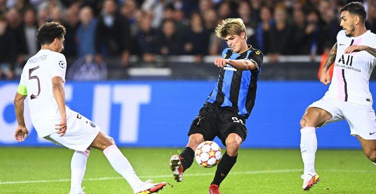 """De Ketelaere is trots op prestatie Club Brugge: """"Scheids kon wel rood geven"""""""