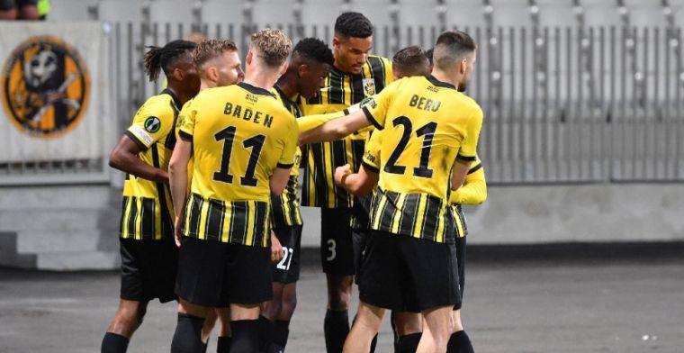 Vitesse wint eerste Conference League-duel, maar vergeet aan doelsaldo te werken