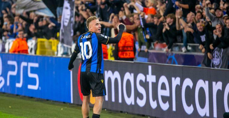 Europa ontdekt Lang op 'historische' avond Club Brugge: 'Fantastische toekomst'