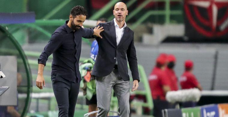 'Ajax was gewoon beter, mijn spelers hebben moeten lijden op het veld'