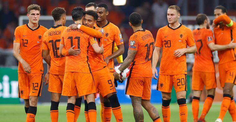 Oranje doet na twee zeges goede zaken: hoogste FIFA-ranking in zes jaar