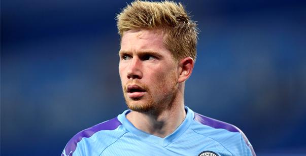 Opvallend: De Bruyne niet langer vice-captain bij Manchester City