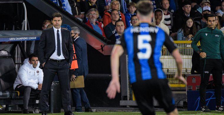 "Pochettino na puntenverlies PSG: ""Club Brugge heeft me helemaal niet verrast"""