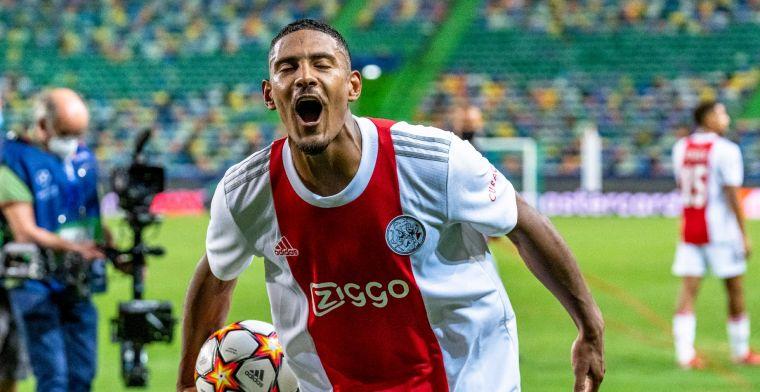 Haller schrijft geschiedenis: zó werd Sporting afgebluft door de spits van Ajax