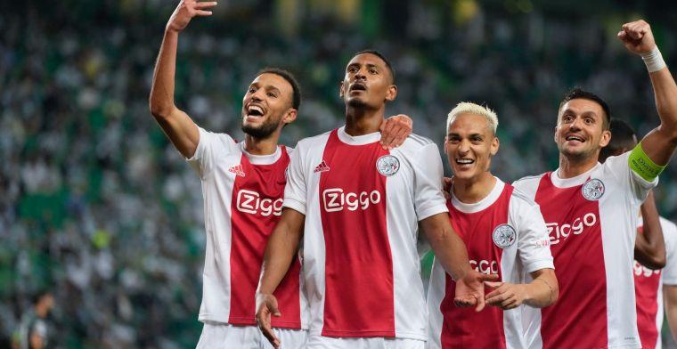 'Bende van Ten Hag' maakt indruk in Europa: 'Haller verkleedt zich als Ajax-god'