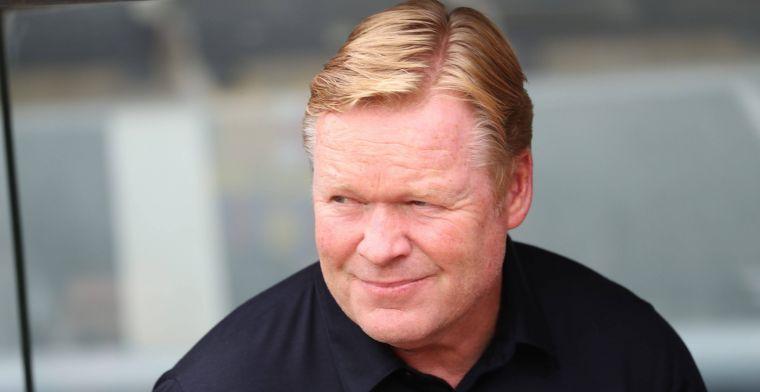 'Voorzitter is woedend op Koeman, ultimatum bij FC Barcelona'