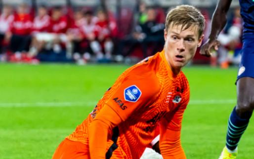 Afbeelding: Randers-trainer dankt Deense AZ-keeper: 'Hij vertelde dat we het zo moesten doen'