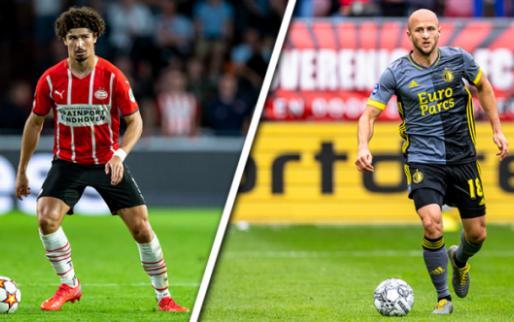 Afbeelding: 'Meer vertrouwen in Ramalho dan in Trauner, maar ik schat PSV ook hoger in'