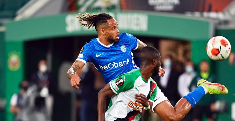 'Theo Bongonda (KRC Genk) mist Limburgse derby tegen STVV'