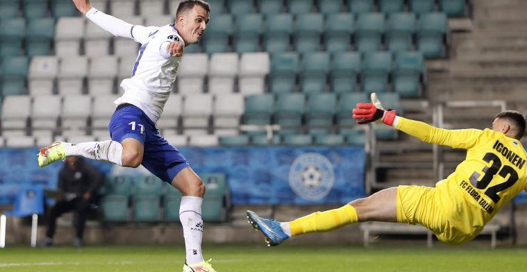 """Lemajic scoort meteen voor KAA Gent: """"Ik was zelf ook verrast met mijn transfer"""""""