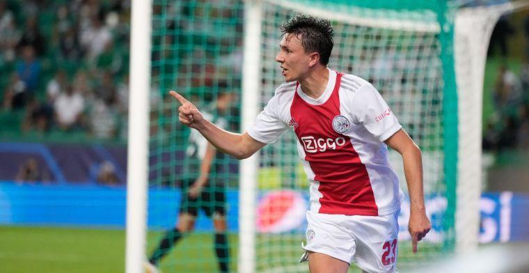 Berghuis geniet bij Ajax: 'Dat ging me niet in de koude kleren zitten'
