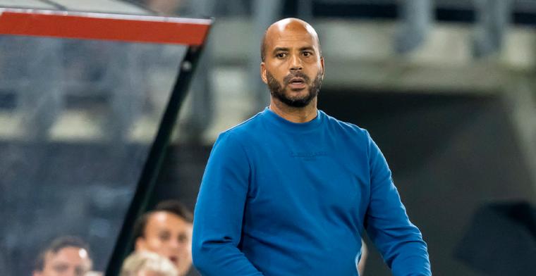AZ-trainer Jansen niet te genieten na gelijkspel: 'Dat bevalt me niet'