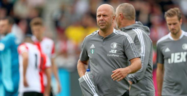 Slot vertelt over Feyenoord-vraagteken voor topper: 'Hij wilde extra behandeling'