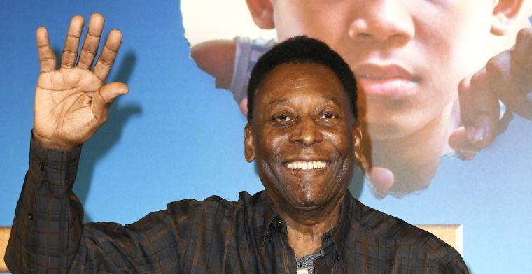 'Voetballegende Pelé ligt na drie dagen toch weer op intensive care'