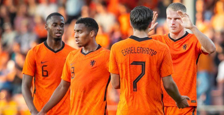 Jong Oranje-voorselectie bekend: 33-koppige selectie, Geertruida keert terug