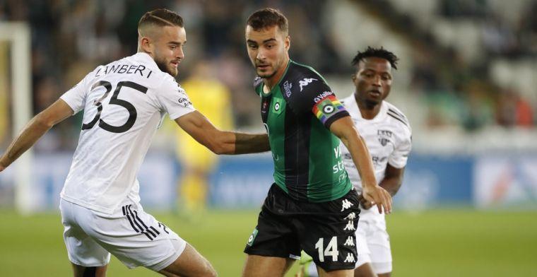 Eupen wordt weer tijdelijk leider na overwinning tegen Cercle Brugge