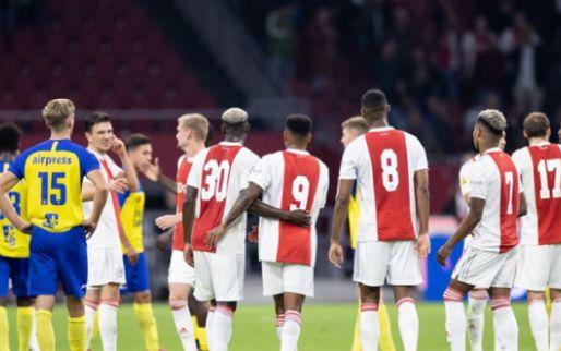 Felle discussie na 9-0 in Amsterdam: 'Dit kan je het Eredivisie-schap kosten'