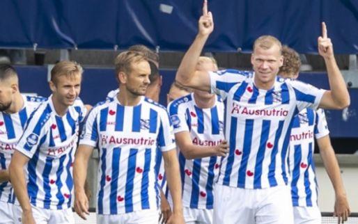 Afbeelding: Veerman en Veerman slaan na vijf minuten toe, Heerenveen blijft in Eredivisie-top
