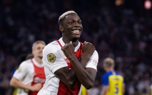 Ajax geeft voetbalshow en haalt bijna de dubbele cijfers tegen Cambuur