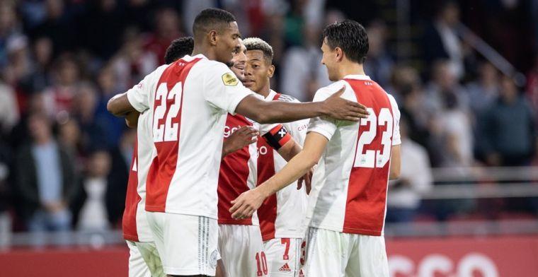 LIVE: Ajax slacht Cambuur, 9-0 (!), acht verschillende doelpuntenmakers (gesloten)