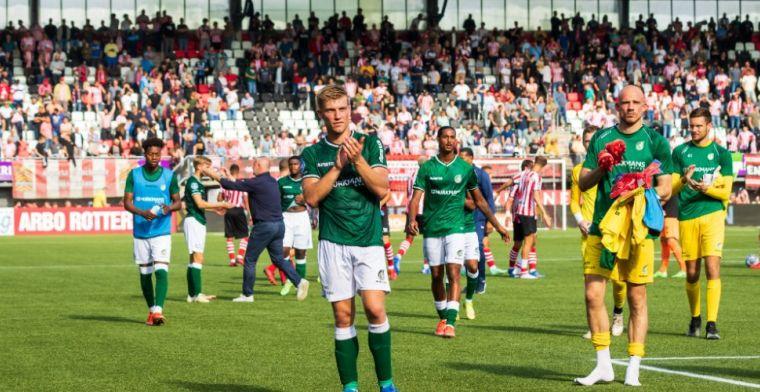 LIVE-discussie: Flemming-tegenvaller voor Fortuna, Heerenveen ongewijzigd