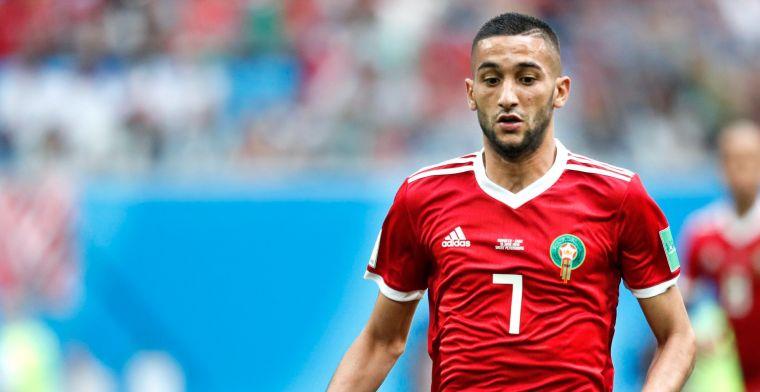 'Ziyech kan oproep voor Marokkaanse elftal vergeten met huidige bondscoach'
