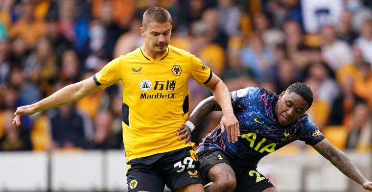 Dendoncker blijft 90 minuten aan bank gekluisterd in nieuwe nederlaag Wolves