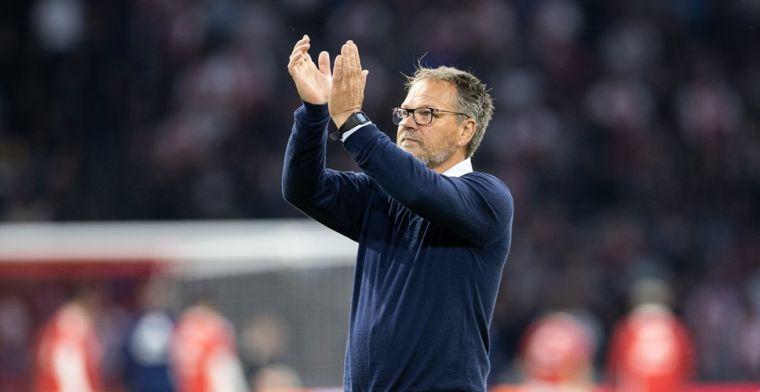 Cambuur-coach De Jong weerlegt kritiek: 'Ik heb het niet verkeerd gedaan toch?'