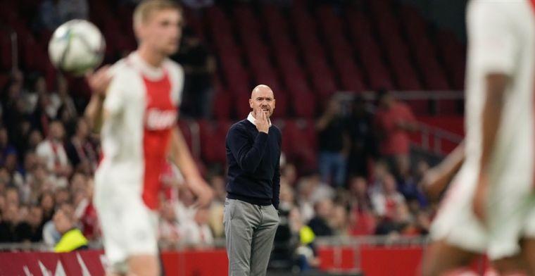 Ten Hag mengt zich in Eredivisie-discussie: 'Bayern wint ook 7-0'