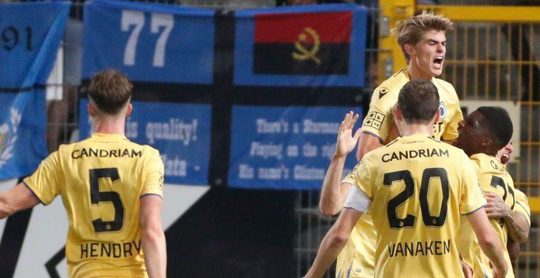 De Ketelaere bezorgt Club Brugge in de blessuretijd de zege tegen Charleroi