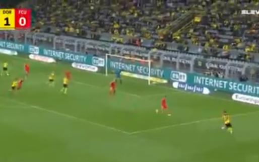 GOAL: Haaland blijft maar scoren, dit keer na assist van Meunier