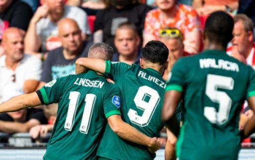 Afbeelding: Feyenoord vernedert PSV voor eigen publiek, invaller Dessers met assist en goal