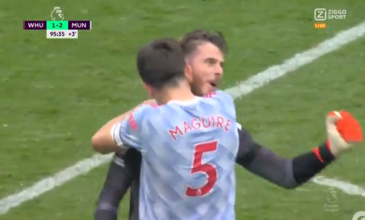 Bizarre climax: De Gea redt Manchester United na ultieme West Ham-gok
