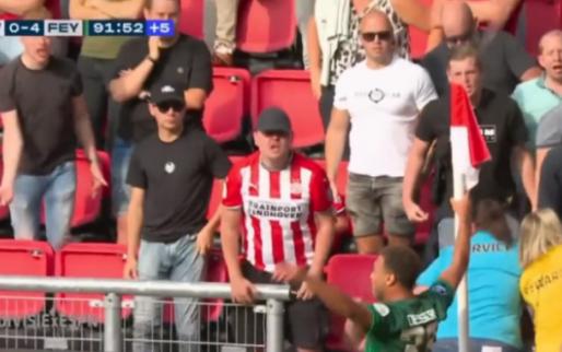 GOAL: Invaller Dessers scoort ook tegen PSV en gaat vieren met de cornervlag